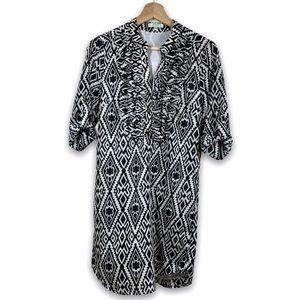 JADE by Melody Tam ruffle dress- size XS